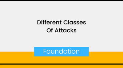 Different Classes Of Attacks